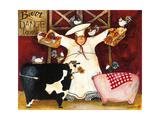 Barn Dance Impression giclée par Jennifer Garant