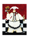 Crimson Chef I Giclee Print by Jennifer Garant