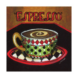 Espresso Giclee Print by Jennifer Garant