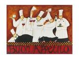 Buon Appetito Reproduction procédé giclée par Jennifer Garant
