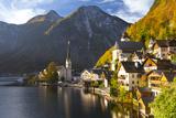 Hallstatt, UNESCO World Heritage Site, Salzkammergut, Austria, Europe Photographic Print by Miles Ertman