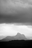 Silhouette of Stac Pollaidh Against Storm Sky, Viewed from Tanera More, Coigach and Assynt, UK Photographic Print by Niall Benvie
