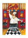 Jennifer Garant - Chef at Café Digitálně vytištěná reprodukce