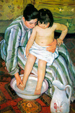 Mary Cassatt The Bath Poster Poster