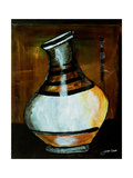African Vessel IV Giclee Print by Jennifer Garant
