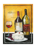 Wine Notes III Giclee Print by Jennifer Garant