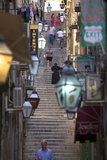 Old Stairway, Dubrovnik, Croatia, Europe Photographic Print by Neil Farrin
