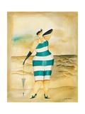 Baigneur du Soleil I Impression giclée par Jennifer Garant