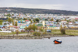 The Harbour Town of Puerto Natales, Patagonia, Chile, South America Photographic Print by Michael Nolan