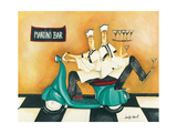 Martini Bar Impression giclée par Jennifer Garant