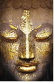 Buddha - Face Reproduction transférée sur toile