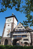 Old Town City Gate, Freiburg, Baden-Wurttemberg, Germany, Europe Photographic Print by Christian Kober