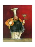 Jumbo Martini Giclee Print by Jennifer Garant