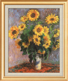 Sunflowers Posters by Claude Monet