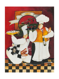 Pasta Time Giclee Print by Jennifer Garant