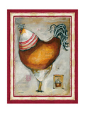 French Rooster IV Reproduction procédé giclée par Jennifer Garant