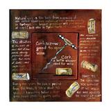 A Cork Story Giclee Print by Jennifer Garant