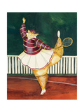 Backhanded Betty Giclee Print by Jennifer Garant
