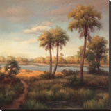 Haibin - In the Tropics I Reprodukce na plátně