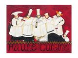 Haute Cuisine Giclee Print by Jennifer Garant
