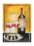 Wine Notes II Giclee Print by Jennifer Garant