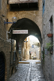 Alleys in the Old Jaffa, Tel Aviv, Israel, Middle East Lámina fotográfica por Yadid Levy