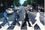 The Beatles Abbey Road Reproduction transférée sur toile