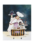 Dessert Chef Giclee Print by Jennifer Garant