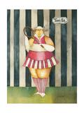 Mavis, Tennis Mavin Giclee Print by Jennifer Garant
