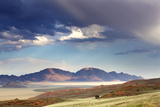 View at Dusk over the Magnificent Landscape of the Namib Rand Game Reserve Photographic Print by Lee Frost