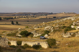 The Landscape around Matera, Basilicata, Italy, Europe Photographic Print by Olivier Goujon