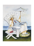 Seaside Chef Giclee Print by Jennifer Garant