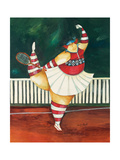 Serve it Up, Ernestine Giclee Print by Jennifer Garant