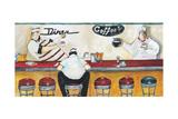 Flo's Diner Giclee Print by Jennifer Garant