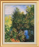 Corner of the Garden at Montgeron Prints by Claude Monet