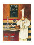 Roasting Pierre Giclee Print by Jennifer Garant