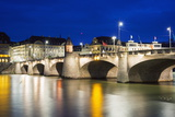 The Rhine River, Basel, Switzerland, Europe Photographic Print by Christian Kober