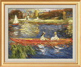 Banks of the Seine Prints by Pierre-Auguste Renoir