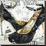Intermittently All the Time Stretched Canvas Print by Derek Gores