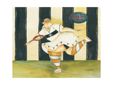 Molly's Volley Giclee Print by Jennifer Garant