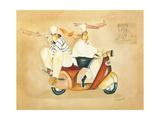 Destination France Giclee Print by Jennifer Garant