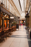Passage Des Panoramas in Central Paris, France, Europe Photographic Print by Julian Elliott