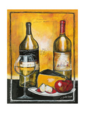 Wine Notes I Giclee Print by Jennifer Garant