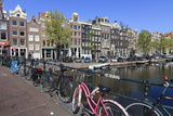 Singel Canal, Amsterdam, Netherlands, Europe Photographic Print by Amanda Hall