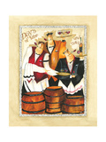 Days of Wine II Giclee Print by Jennifer Garant