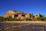Ait-Benhaddou Kasbah, Morocco, North Africa Photographic Print by Neil Farrin
