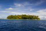 Little Islet in the Ant Atoll, Pohnpei, Micronesia, Pacific Photographic Print by Michael Runkel