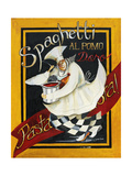 Pasta Pasta Giclée-tryk af Jennifer Garant