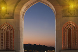 Sultan Quaboos Great Mosque, Muscat, Oman, Middle East Photographic Print by Angelo Cavalli
