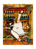Chef in Paris Giclee Print by Jennifer Garant
